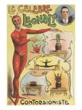 Le célèbre Leonaly  contorsioniste
