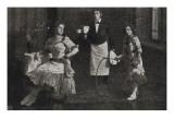Trio Traversa Potpourri-Akrobaten und Ikarische Spiele auf Händen (1912)