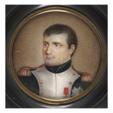 Miniature : Portait de Napol&#233;on Ier