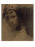 Le fou ou la Folie : tête coiffée d'un bonnet