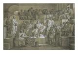La sentence de Ligarius ou Cicéron plaidant devant César