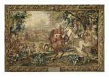 La défaite du comte de Marsin  commandant de l'armée espagnole près du canal de Bruges