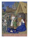 Le Livre d'Heures d'Etienne Chevalier : Fragments des Evangiles  L'Adoration des Mages