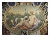 La Nymphe de Fontainebleau Galerie François Ier  quatrième travée nord