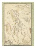 La Harpiste Azadeh à dos de chameau