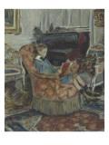 La lecture ou l' enfant au livre