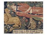 La tenture de Saint Etienne  pièce V : le martyre de saint Etienne
