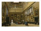 Le Salon Carré au Musée du Louvre