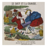 Le loup et la cigogne