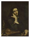 L'homme à la ceinture de cuir  portrait de l'artiste