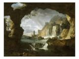 Les cascatelles de Tivoli (campagne de Rome)