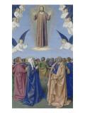Le Livre d'Heures d'Etienne Chevalier : Fragments des Evangiles  L'Ascension