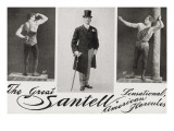 The Great Santell Sensational American Hercules  leveur de poids