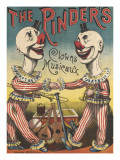 The Pinder's : clowns musiciens