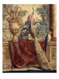 Les Maisons royales : Fontainebleau (3e entrefenêtre)