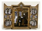 Triptyque de deuil de Catherine de Médicis
