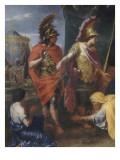 """La Famille de Darius aux pieds d'Alexandre dit """"la tente de Darius"""""""