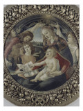 La Vierge &#224; l&#39;enfant et cinq anges (Vierge du Magnificat)