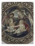 La Vierge à l'enfant et cinq anges (Vierge du Magnificat)