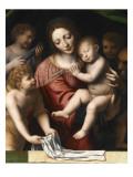 Le Sommeil de l'Enfant Jésus  ou la Vierge tenant l'Enfant Jésus endormi  a