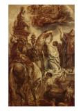 Le martyre de Sainte Apolline