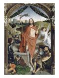 Triptyque de la résurrection (Résurrection  Martyre de Saint Sébastien  l'Ascencion)
