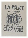 La police à l'ORTF  c'est la police chez vous