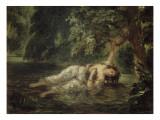La mort d'Ophélie (Shakespeare  Hamlet)