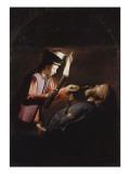 La Découverte du corps de saint Alexis (copie d'après un original perdu)