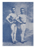 Les Crotton's (Crotton's brothers) Phenomenal Acrobates de force (Mains-en-mains)