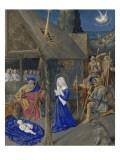 Le Livre d'Heures d'Etienne Chevalier : Les Heures de la Vierge  La Nativité  Adoration des bergers