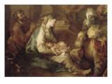 La Nativité  avec l'Adoration des mages