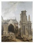 L'église des Feuillants en démolition