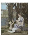 La jeune mère  dit aussi Maternité  ou la Charité