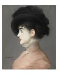 La femme au chapeau noir : portrait d'Irma Brunner la Viennoise