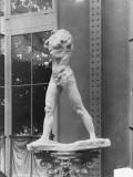 L'Homme qui marche / Rodin plâtre  1887 (Pavillon de l'Alma  Exposition Universelle 1900)