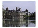 L'étang et les bâtiments de la cour de la Fontaine