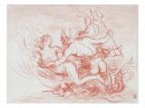 Triton et néréide
