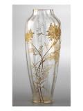 Vase à décor de chrysanthèmes