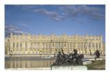 Vue du château de Versailles côté parc (corps principal)