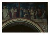 Dispersion des peuples au pied de la Tour de Babel  deuxième travée du côté droit de la nef de