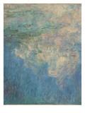 Les Nymph : les Nuages Giclée par Claude Monet