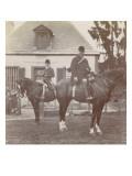 Villers-Cotterêts  cavaliers dans la cour