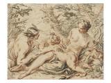 Vénus  Mercure et l'Amour