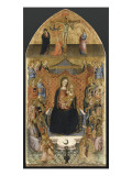Virgin Enthroned with Ten Angels and Twelve Saints