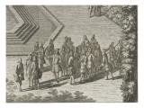 """Recueil des """"Plans  Profils et Elévations du Château de Versailles"""" : planche 35 : vue"""