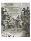 """Recueil des """"Plans  Profils et Elévations du Château de Versailles"""" : planche 46 (2) : vue du"""