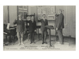 Palais de Fonfainebleau  Conservatoire américain : Classe des chefs d'orchestre Professeur Francis