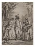 Histoire de France sous l'Empire de Napoléon le Grand  Toussaint Louverture reçoit une lettre du