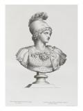 Tableau du Cabinet du Roi  statues et bustes antiques des Maisons Royales Tome II : planche 3